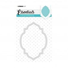 Kovinske šablone - Embossing Die Cut Stencil - Essentials Nr.201 - Studio Light