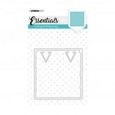 Kovinske šablone - Embossing Die Cut Stencil - Essentials Nr.202 - Studio Light