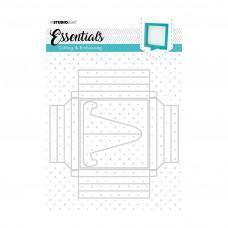 Kovinske šablone - Embossing Die Cut Essentials Nr.270 - Studio Light
