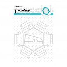 Kovinske šablone - Embossing Die Cut Essentials Nr.271 - Studio Light