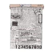 Tim Holtz - Tissue Wrap - Postale