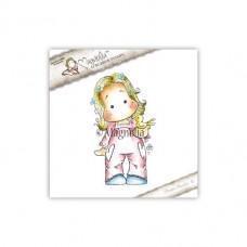 Štampiljka - Tilda With Early Bird - Magnolia