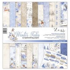 Set papirjev - Winter Tales - 30,5 x 30,5 cm - Laserowe LOVE