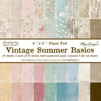 Maja Design - Vintage Summer Basics - 6x6 Paper Pad