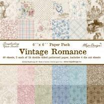 Maja Design - Vintage Romance - 6x6 Paper Pad