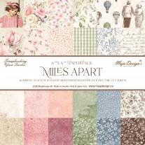 Maja Design - Miles Apart - 6x6 Paper Pack