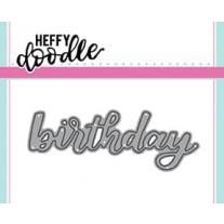 Heffy Cuts - Birthday - Heffy Doodle