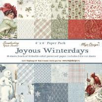 Maja Design - Joyous Winterdays - 6x6 Paper Pad