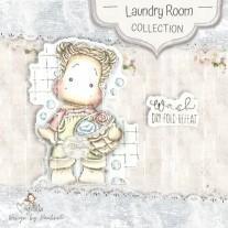 Laundry Tilda & Wash Dry Fold Sentiment - Magnolia