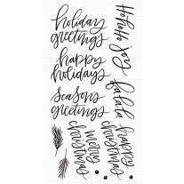 Hand-Lettered Holiday Greetings - My Favorite Things