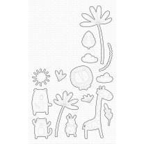 Sweet Safari Die-namics - My Favorite Things