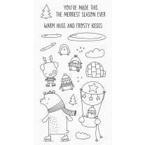 Warm Hugs and Frosty Kisses - My Favorite Things