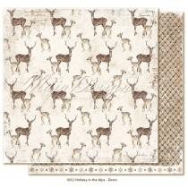 Paper - Deers - Holiday in the Alps