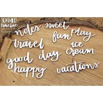 Summer Travelove - Inscriptions - Scrapiniec