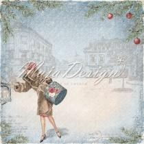 Paper - Mail the postcards - Christmas Season