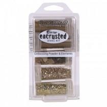 Fran-táge - Encrusted Jewel Kit - Gold