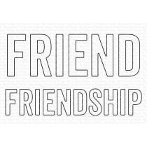 Friend & Friendship Die-namics - My Favorite Things