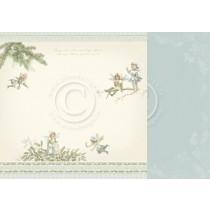 Paper - Winter fairies - Four Seasons of Fairies