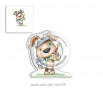 Fuzzypuff Scruff Birthday - Polkadoodles