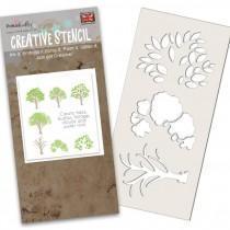 Tree-mendous Stencil - Polkadoodles