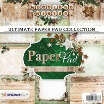 Studio Light - Woodland Winter nr. 92 - 15x15cm Paper Pad