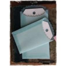 Vellum Envelopes & Tags - BLUE - Melissa Frances