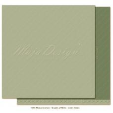 Paper - Monochromes - Shades of Miles - Linen Green