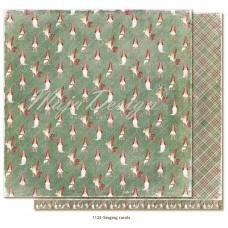 Paper - Singing carols - Traditional Christmas