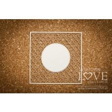 Grille Vintage full double circle - Memories - Laserowe LOVE