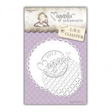 Lace Coaster - Magnolia