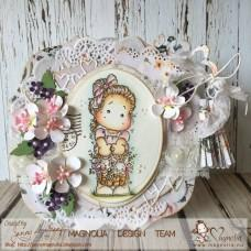 Hippity Hoppity Tilda with Basket Bunnies - Magnolia