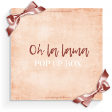 Oh la lama Pop Up Box 2021 - Magnolia