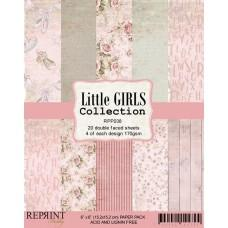 Reprint - Little Girls Collection - 6x6 Inch Paper Pack