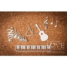 Music Back to school - Laserowe LOVE