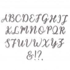 Thinlits Die Set 28pk - Elle Uppercase - Sizzix