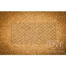 Checkered background Vintage - Memories - Laserowe LOVE