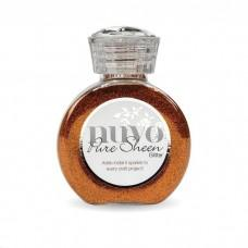 Nuvo Pure Sheen Glitter - Spiced Apricot