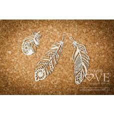 Decorative feathers - Indiana - Laserowe LOVE