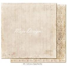 Paper - I wish you a happy new year - I Wish