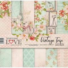 Set of papers - Vintage Trip - 30,5 x 30,5 cm - Laserowe LOVE