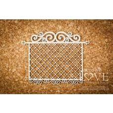 Frame with ornaments - Vintage Ornaments - Laserowe LOVE