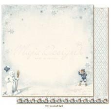 Paper - Snowball fight - Joyous Winterdays