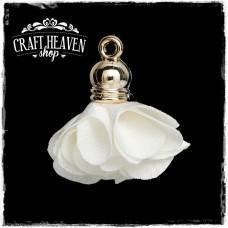 White Flower Pendant