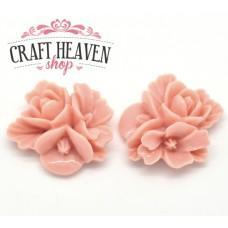 Pink Resin Flowers