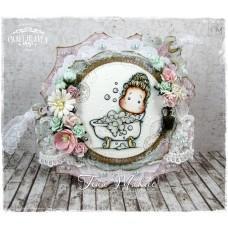 OOAK Handmade Greeting Card - Relax