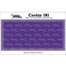 Crea-Lies Cardzz Dies no.181 - Slimline A