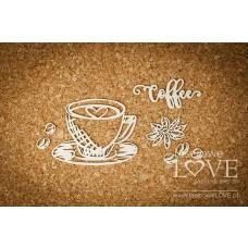 Cup of coffee - Kitchen Time - Laserowe LOVE