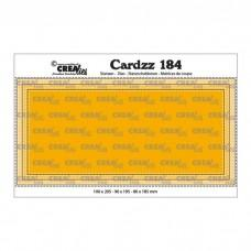 Crea-Lies Cardzz Dies no.184 - Slimline D