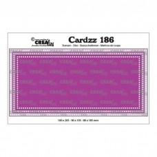 Crea-Lies Cardzz Dies no.186 - Slimline F
