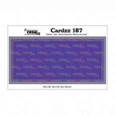 Crea-Lies Cardzz Dies no.187 - Slimline G